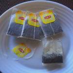 Стаканчики для рассады из чайных пакетиков